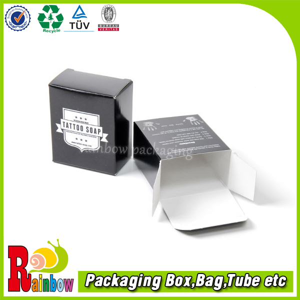 customized reverse tuck end paper box/rear tuck end boxes