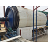 Environment convert waste plastic to oil plant pyrolysis production line