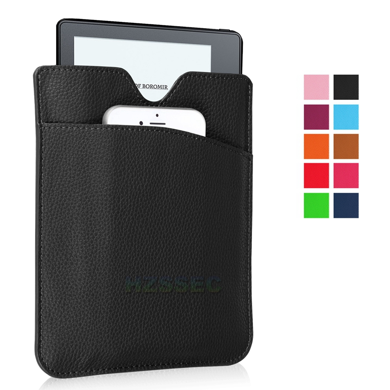 High Quality Ultra Slim Case Cover with Extra Pocket for Amazon Kindle Oasis E-Book