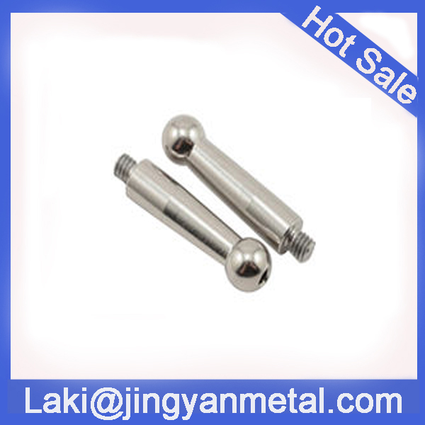 CNC machining billet aluminium/stainless steel linkage ball set