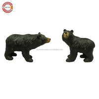 New arrival wood carving bear wooden crafts for home decoration