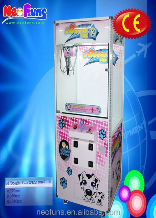 "Crazy Skill Toy Catcher Game Machine/31""single claw crane machine(NF-P12)"