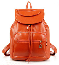 girls school backpack, lady leather travel outdoor bag,women fashion waterproof shopping bag