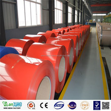 PPGI Coils, Color Coated Steel Coil, RAL9002 White Prepainted Galvanized Steel Coil /Metal Roofing Sheets Building Materials