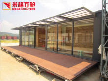 Alibaba China Suppliers Modern Design Prefab Modified Shipping Sea Container House for sale