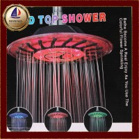 FW Hydroelectric power LED top shower head