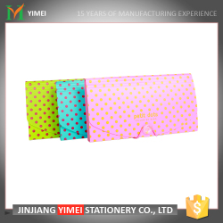 high quality A4 file folder with dots for student or office staff