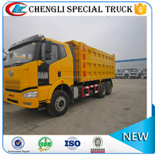 China Heavy Duty 6x4 6x6 10 wheeler 25 ton 30 ton FAW Dump Trucks Price Cheap for Sale