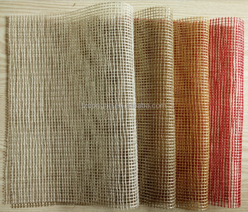 High quality pvc woven chilewich mesh placemats