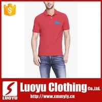 Wholesale 100% cotton embroidered logo men custom polo t shirts