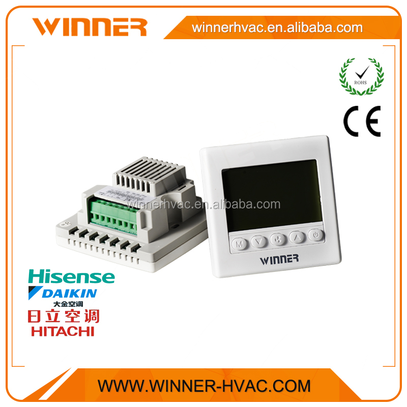 AC220V 3 Speed High/Med/Low Room Temperature Control Thermostat