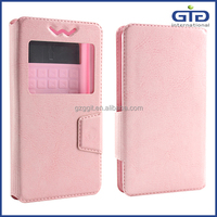 [GGIT] Hot Sale Smartphone Leather Flip Cover Universal Case