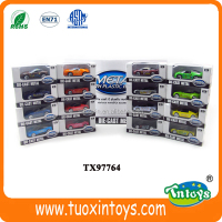 mini car collection toy, container die cast scale model car