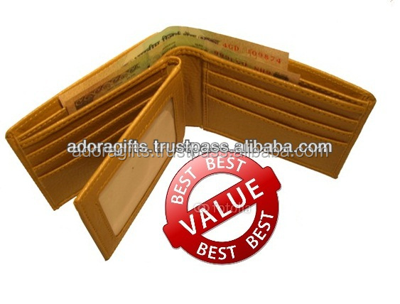 branded leather mens wallets / newest design businessmen wallets / latest trending wallet purses for mens