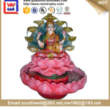 Antique hindu god murti resin hindu god statue