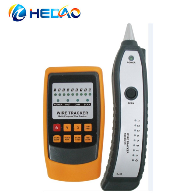 Porfessional network cable tester & wire tracker HD60