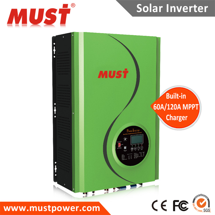 solar ups 24V 48V 12KW MUST power MPPT Inverter supply