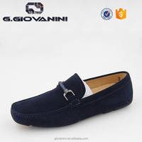 141-05 NAVY mocassin men driving shoe arabic casual shoes men
