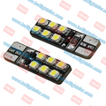 High Quality T10 Auto Canbus Led SMD1210 White 194 501 W5W Car LED Canbus Lamp