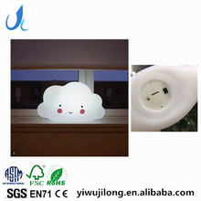 2017 ins Novelty Cloud led Night Light For Kid, Cute Baby Safe night light lamp