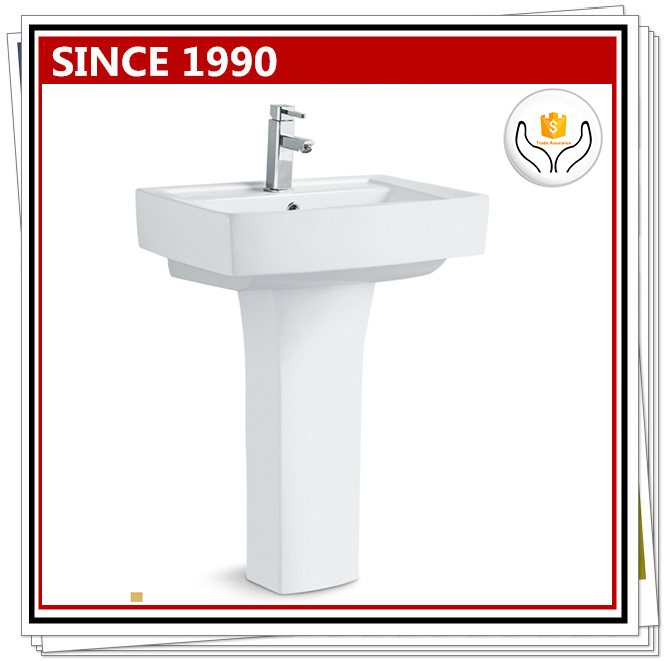 2239 Chaozhou Ceramic Used Pedestal Sink For Sale