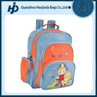 Funny cheapest children school bags with cartoon pictures