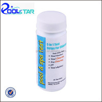 Swimming pool 5 way water test kit for PH strip P1924-5