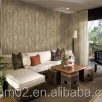 Deep Embossed Household Oriental Washable Home Interior PVC Wallpaper