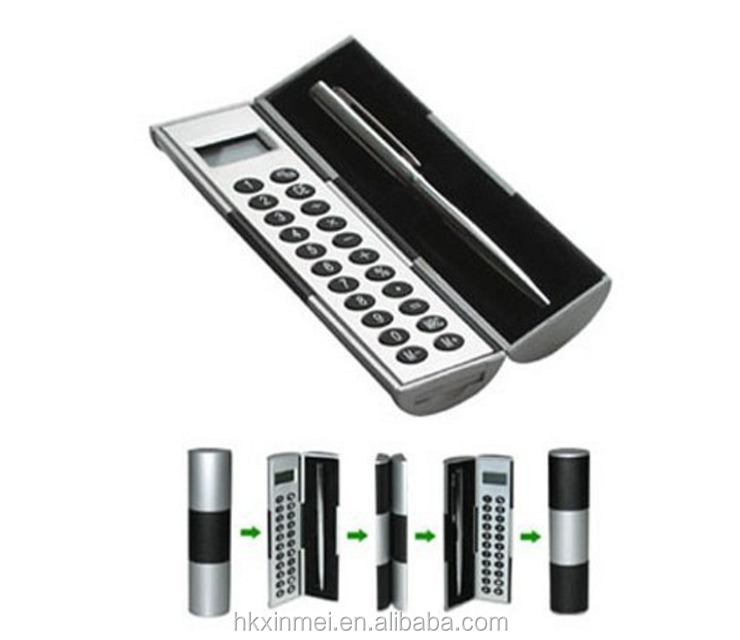 Best price useful Folding scientific Calculator , Calculator with pen set,pocket calculator