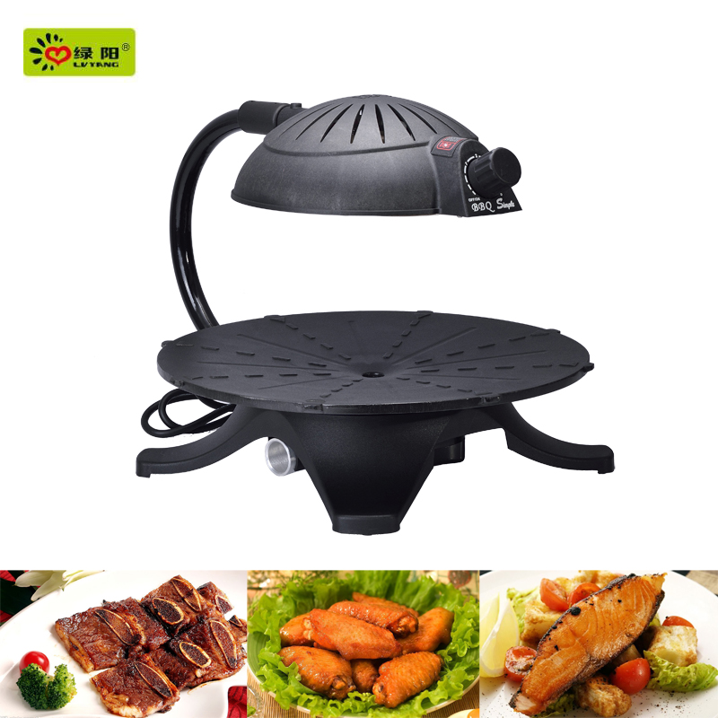2016 hot sale infrared barbecue electric smokeless bbq & pig roasting oven