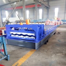 Galvanized Steel Fully Automatic Glazed Tile Roof Sheet Roll Forming Machine