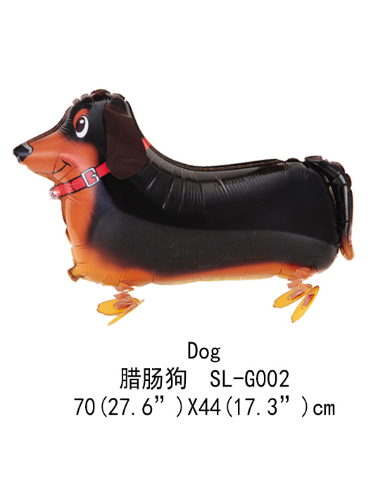 Trend 2018 toy kids dog walking balloon for baby party