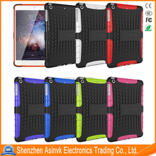 Shock Absorbent Dual Layer Heavy Duty Pc+Tpu Defender Hybrid Armor cover case with Kickstand For Apple iPad Mini 1/Mini 2/Mini 3