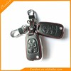 High Quality Car Leather Key Cover Case 3 button Fold For Hyundai I30 Solaris Verna Accent Tucson