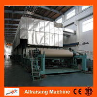Chine Recycle Paper Cardboard Paper Making Machine