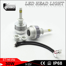 auto led headlight bulb H1 H4 H7 motorcycle and car led headlight car head light led 40w for honda wave 100