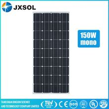 Hot sale 150W monocrystalline solar panel/panel solar/PV modules with TUV CEC CE UL SONCAP certiifcates from China manufacturere