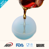 Food grade new design collapsible silicone ice sphere tray