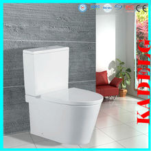 Italian bathroom type sanitary ware two piece ceramic toilet