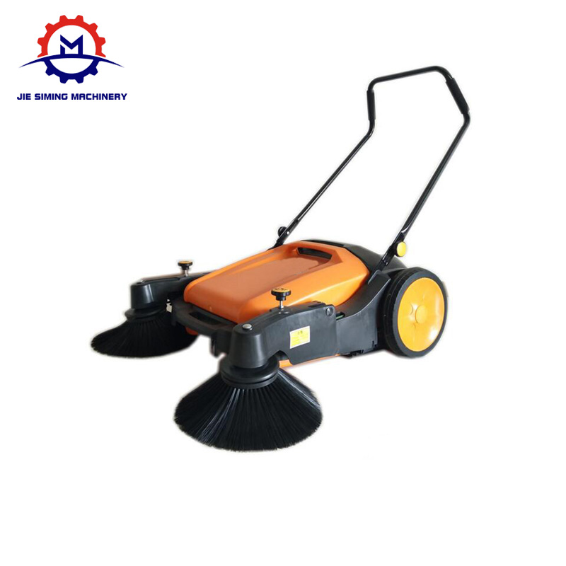 Unpowered Walk Behind Sweeping Machine Hand Push Manual Sweeper Machine Price