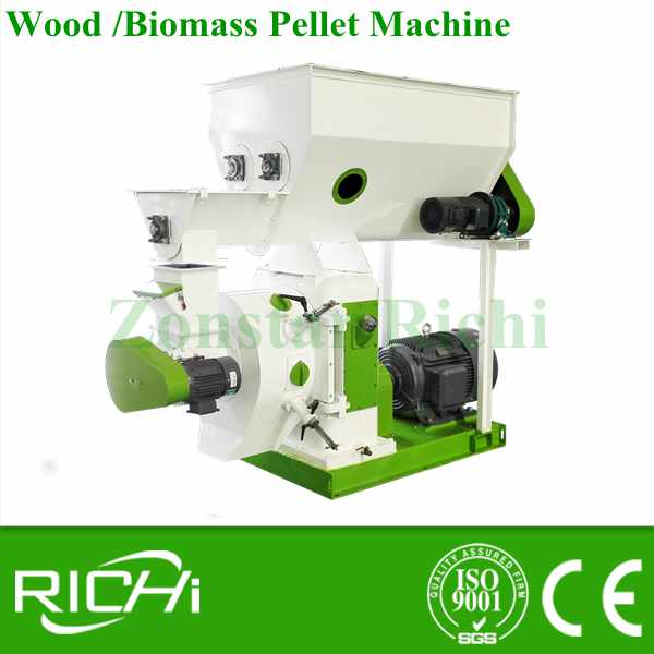 Factory Supply Directly 500-800kg/h Complete Wood Pellet Mill / Wood Pellet Production Line