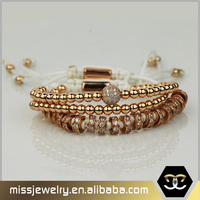 Wholesale tanishq jewellery stretch beaded bracelet model designs