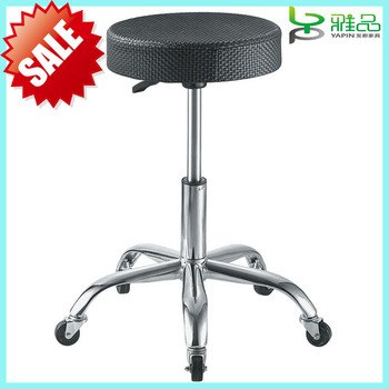 2014 Yapin Hot Sale Black Hairdresser Salon Cutting Saddle