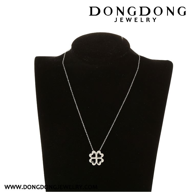New arrival good quality for wholesale minimalist white stainless steel necklace