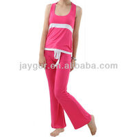 The latset design yoga wear custom spandex suit