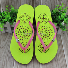 Easy wear daily use girl style beach sandal flip flops