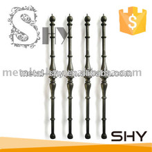 Stair balcony railing wrought iron baluster bar of china manufacturer
