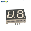 Shenzhen factory price and long span life 2 digit 0.56inch common cathode red color LED seven segment display