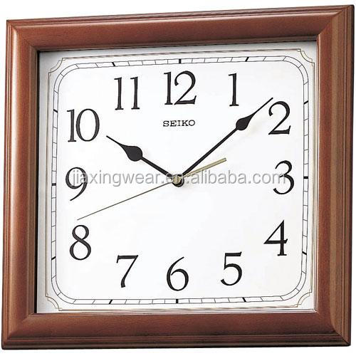 wholesale apple shape wall clock