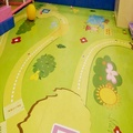 Naughty castle kids playground PVC flooring